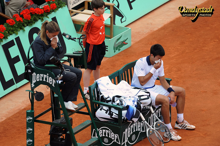 Bloc notes 20 roland garros des photographes 10 14 for Chaise arbitre tennis