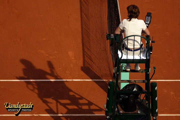 Bloc notes 20 roland garros des photographes 12 14 for Chaise arbitre tennis