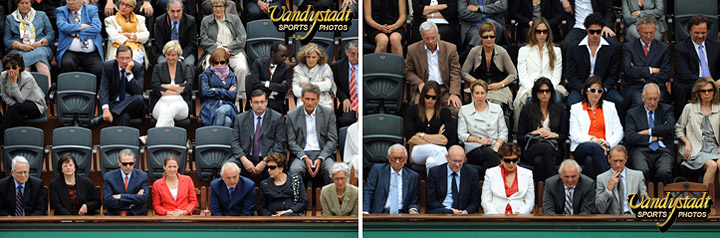 Bloc notes 20 roland garros des photographes 8 14 - Tribune vip stade de france ...