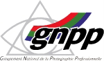 Logo GNPP Groupement National de la Photographie Professionnelle sur REGARDS DU SPORT - VANDYSTADT