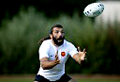 WWW.REGARDS DU SPORT-VANDYSTADT.COM Photos echauffement rugby Chabal