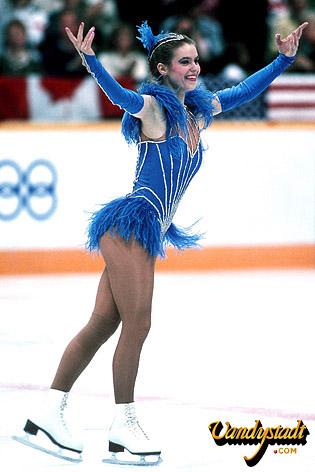 Katarina Witt Skating Costumes